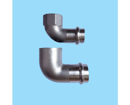 FEMALE ELBOW PRESS FITTINGS BY CASTING